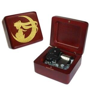 Image 3 - Sinzyo boîte à musique en bois marin fait à la main, boîtes à cadeaux danniversaire pour noël/anniversaire/saint valentin