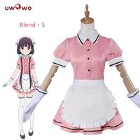 Sakuranomiya Maika Cosplay Blend S Stile Cafe Sadistic Maid Uniform Uwowo Costume New Year Costumes Girls
