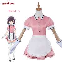 Sakuranomiya Maika Cosplay Blend S Stile Cafe Sadistic Maid Uniform Uwowo Costume New Year Costumes Girls