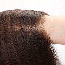Inhaircube синтетические передние парики шнурка волос с выделениями 20 коричневый длинные натуральные прямые волосы для афроамериканских женщи...