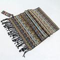100% Silk Scarves Printed, Thick Warm Autumn And Winter Scarf, Man Scarf Leisure And Business echarpes foulards femme