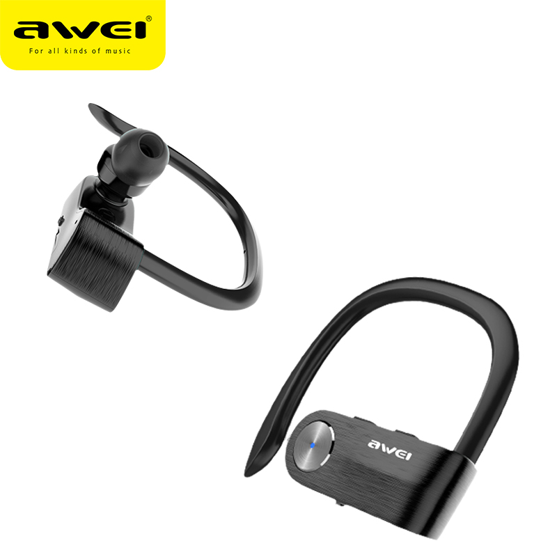 AWEI T2 Wireless Bluetooth Earphone TWS Stereo V4.2 Headset Cordless Ecouteur For Phone Auriculares With Microphone Bluetooth