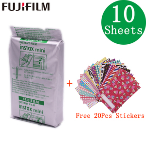 Image 5 - 10   200 גיליונות Fujifilm Instax מיני לבן סרט מיידי נייר צילום פוג י Instax מיני 11 8 9 7s 9 70 25 50s 90 מצלמה SP 1 2