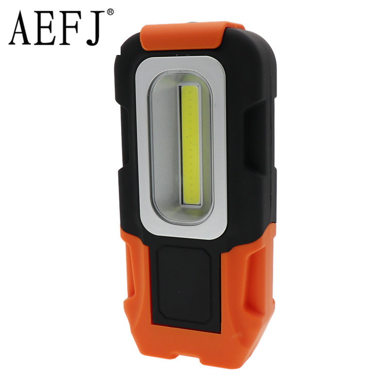 1-Mode Led Portable Spotlight 10W COB Work Light Aaa Battery Outdoor Lamp For Hunting Camping Led Lanterns Flashlight