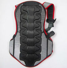 BONJEAN  New Breathable Back Protector Back Piece Sports Bike Motorcycle Motocross Racing Skiing Body Armor / Free Shipping