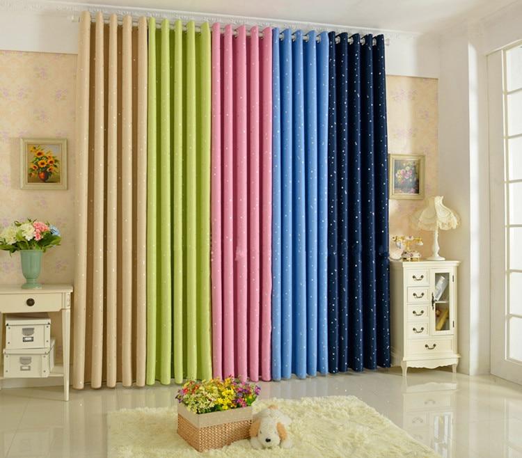 Verano StyleFashion cortinas sólido productos terminados cortinas ...