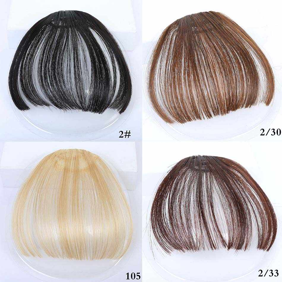 MUMUPI женский парик в наличии девушки спереди аккуратная челка волосы для наращивания поддельные волосы человеческие накладная челка