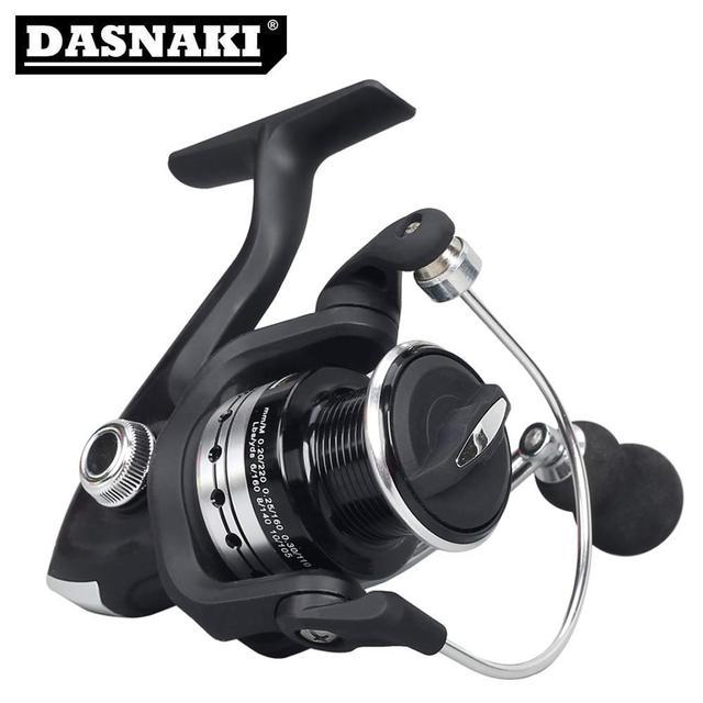 High Quality Original Reel Printing 12+1BB Spinning Fishing Reels Gear Ratio 5.5:1 DM1000-7000 carretilhas de pesca