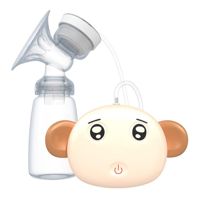Nuevas bombas de leche 150 ml de mama sacaleches eléctrico de alimentación animal lindo diy 9 tipos de expresiones de succión de gran alcance usb eléctrica