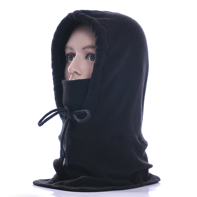 Face Mask Thermal Fleece Balaclava Hood Swat Bike wind-proof and sand-proof Stopper Hats Caps   Skullies     Beanies   for men and women