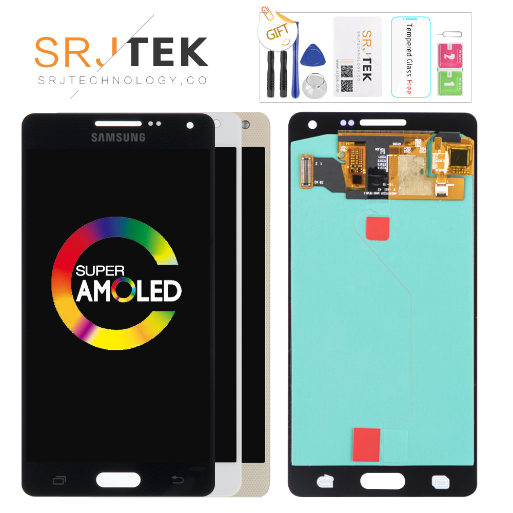 AMOLED LCD für SAMSUNG Galaxy A5 2015 Display A500FU A500 A500F A500M Touchscreen Digitizer Ersatz Für SAMSUNG Galaxy A5