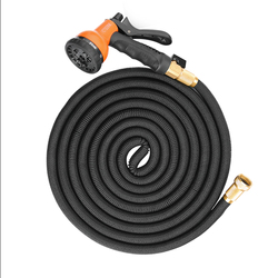 Upgrade COZZINE 8 Modes Garden Hose Expandable Magic Flexible Water Hose EU Plastic Hoses Pipe With Nozzle Spray Gun To Watering