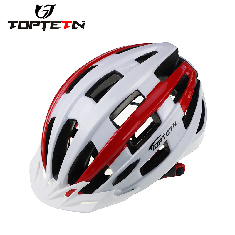 TOPTETN Bicycle Helmet Road MTB Bike Cycling Adult Safety Helmet With Visor