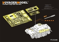 KNL HOBBY Voyager Model PE35286 World War II Germany II G type VK901 light tank modified pieces (with metal barrels)