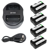 NP FM500H NP FM500H Rechargeable Camera Battery + USB Dual Charger for Sony A57 A65 A77 A350 A550 A580 A900 Digital Battery
