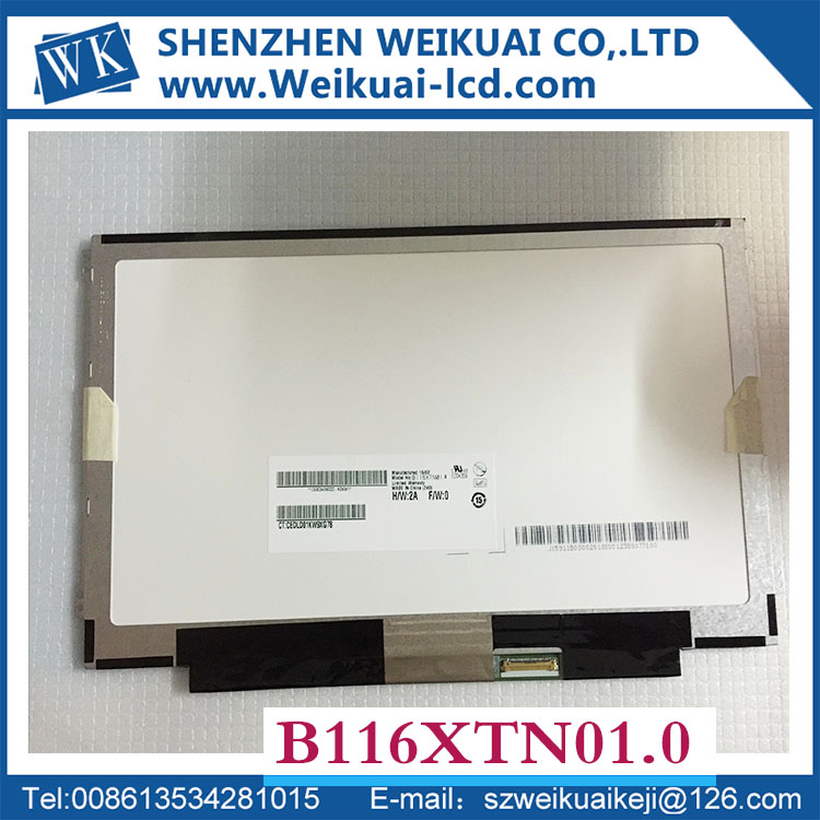 N116BGE-EA2 E42 E32 B116XTN01.0 N116BGE-E32 N116XTN02.3 M116NWR1 R7 30PINs Left+right ears NEW LED SLIM Display Laptop Screen