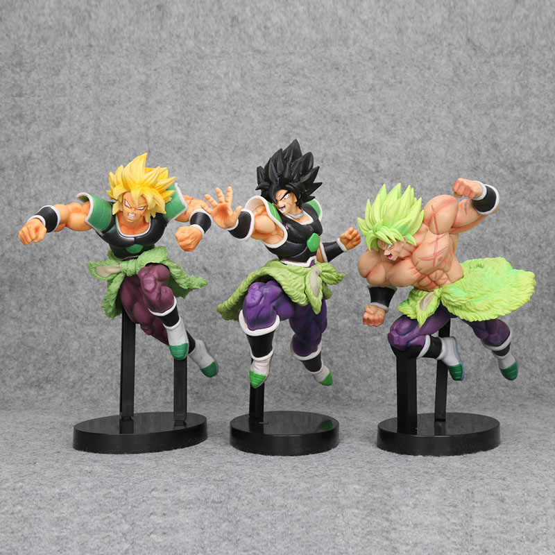 Dragon Ball Z Super Saiyan Broly brolly Full Power Brolly PVC Figure Toy Collectible Modelo Filme Ver. Cabelo verde VS Goku Broli