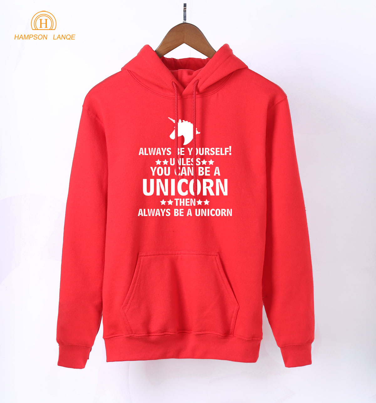 Always Be Yourself Unless You Can Be A  2019 Spring Autumn Kawaii Sweatshirts Women K-pop Hoodies Pink Warm Fleece Hoodie