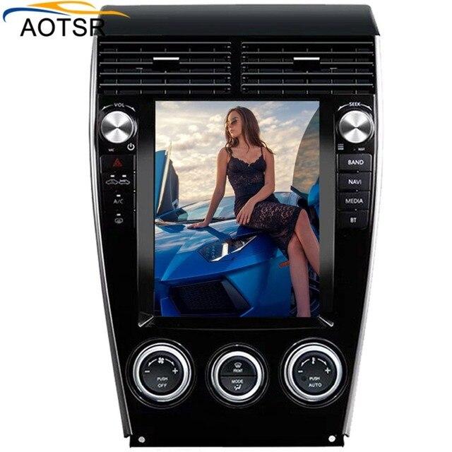 """Tesla estilo 10,4 """"Android 6,0 32 GB ROM coche CD DVD Player navegación GPS Multimedia Radio estéreo Unidad Principal para Mazda 6 2002-2015"""