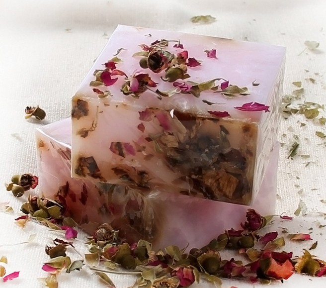 face care Excellent cleansing soap natural rose petals oil ...