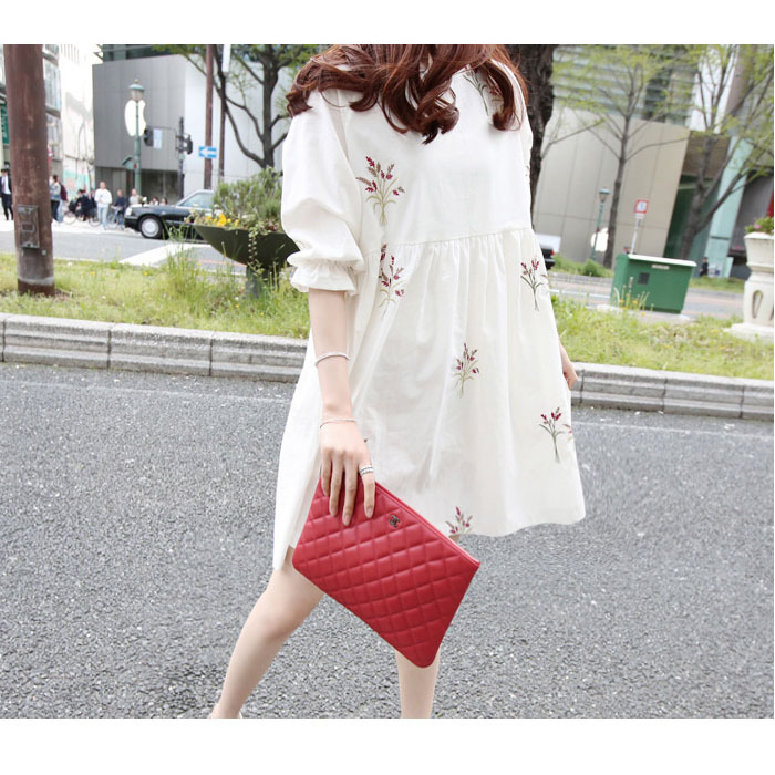 ebc8a0daa60 Cute Embroidery Dresses Maternity Clothes For Pregnant Women Elegant Ladies  Pregnancy Clothing Summer Wear Princess Fashion-in Dresses from Mother    Kids on ...