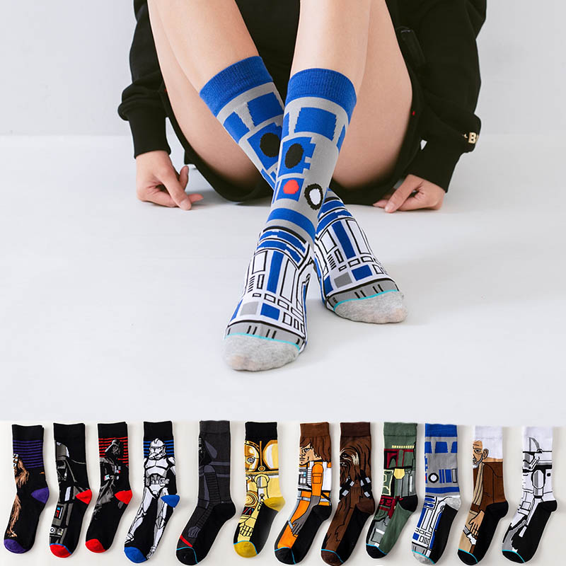 Winter high Quality Harajuku chaussette Style   Socks   For Women Men's Cotton Hip Hop   Socks   Man Meias Mens Calcetines