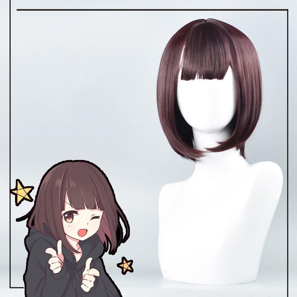 Cosplay Wig Cute Anime Daily Girl Short Hair Brown In Women S Hair