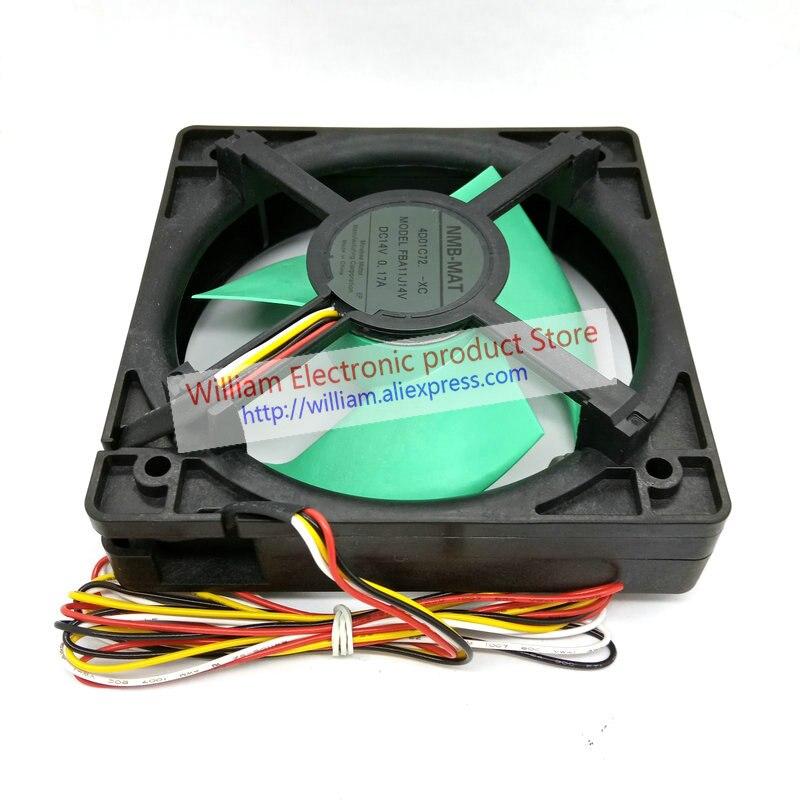 For NMB FBA11J14V DC14V 0.24A for Panasonic refrigerator fan