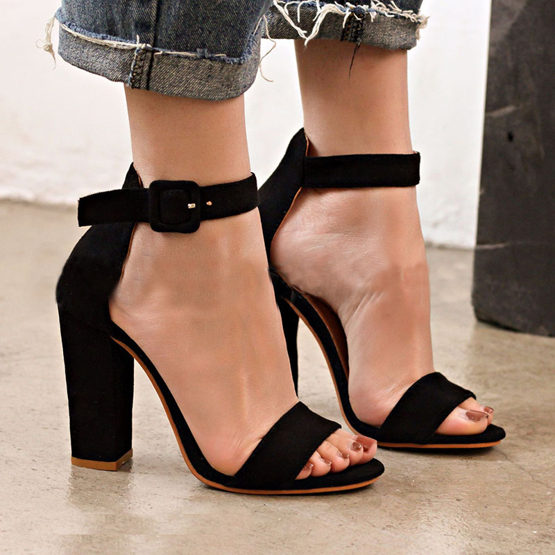 White Gold Sexy High Heels Shoes 2018 New Fashion Summer