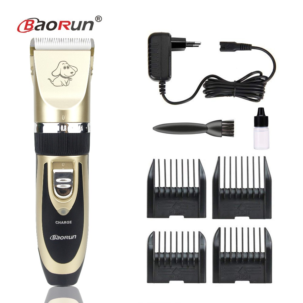 Professional Grooming Kit Rechargeable Pet Cat Dog Hair Trimmer High Quality Electrical Clipper Shaver Set Haircut Machine