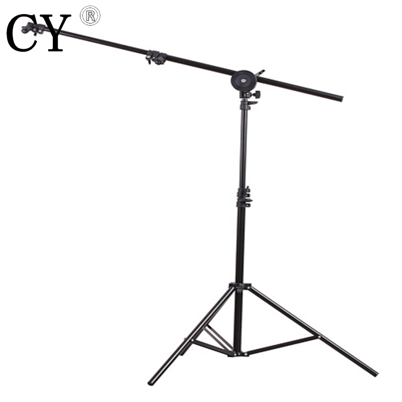 Lightupfoto Studio Panel Reflector Arm Backdrop Holder with Light Stand studio support r ...