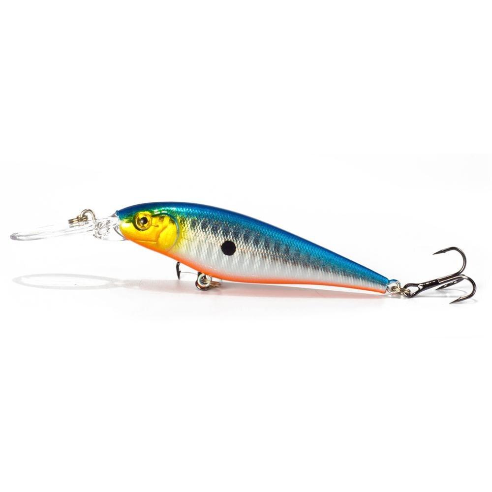 Sealurer рыболовная приманка 1 шт. приманка для щуки гольян 11 см 10,5 г Джеркбейт плавание на глубине воблеры кренкбейт - Цвет: D
