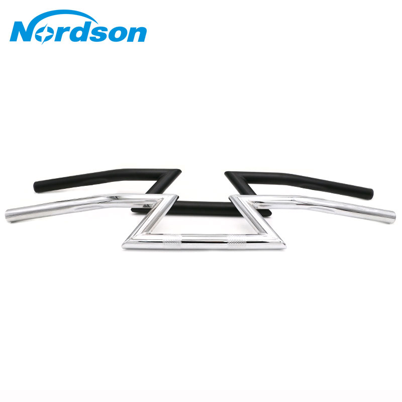 Nordson General 125MM Motorcycle Handlebar Z Bar For CG125 Honda Harley Yamaha Suzuki Kawasaki Victory Chopper Cruiser Chopper motorcycle phone holder zipper pocket handlebar bracket mount universal for harley honda kawasaki yamaha cruiser chopper bobber