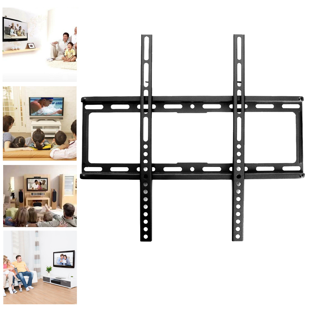 TV Bracket LCD TV Stand Holder Wall Mount Brackets for 26-47 inch TV Thickening Universal Hook TV Stand Bracket стоимость