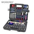 WORKPRO 165 Unid casa herramientas hogar herramienta casa conjunto de herramientas de reparación herramientas de mano