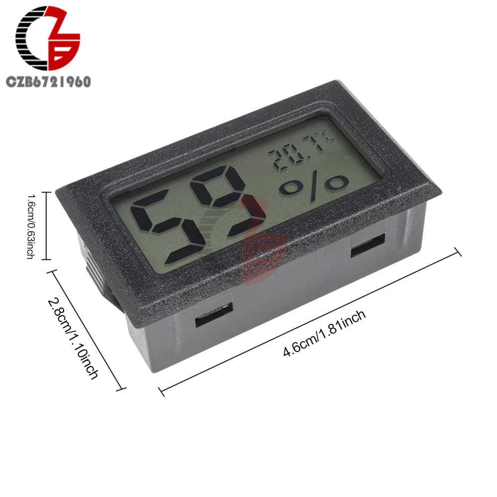 正確な屋内ルーム液晶デジタル温度計湿度計サーモ湿度計温度湿度計水分測定 · モニター