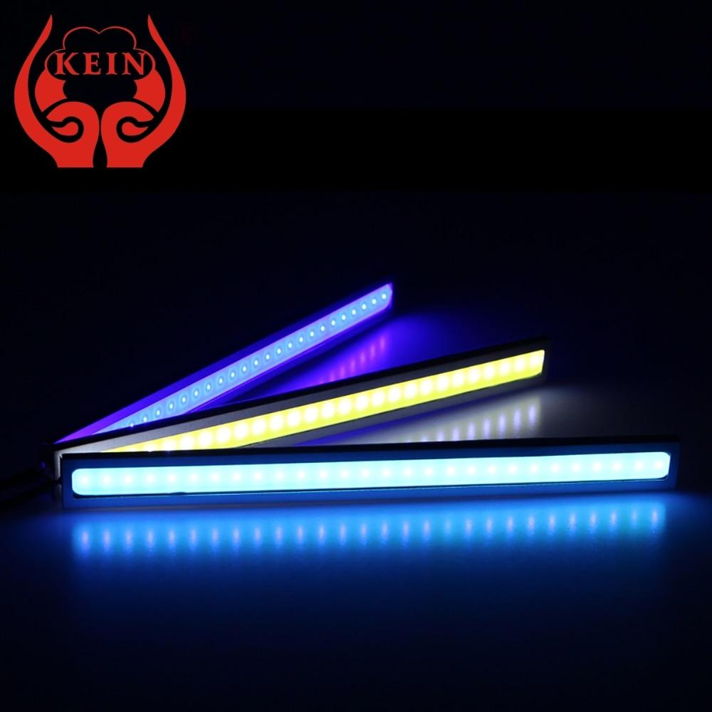 KEIN Pathway Lighting 17CM 28 LED COB DRL denní běh Univerzální lampa bar modifikace auta Úschovna zavazadlového prostoru Signální žárovka