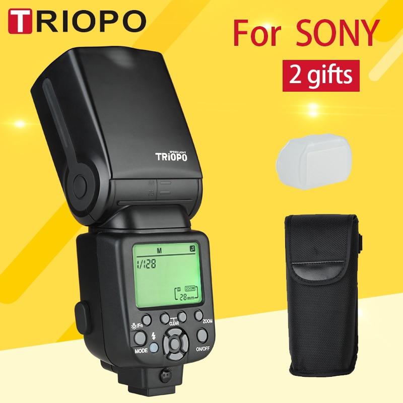 Triopo Speedlite Flash Flash TR-960 III 2.4G Sans Fil Costume pour Sony A850 A450 A500 A560 A77 A65 A33 A35 Caméras Genunie
