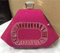Pink Color Women Evening Bag Women Crystal Rhinestone Diamond Evening Purse Ladies Evening Clutch Boxed Evening Bag and Clutches