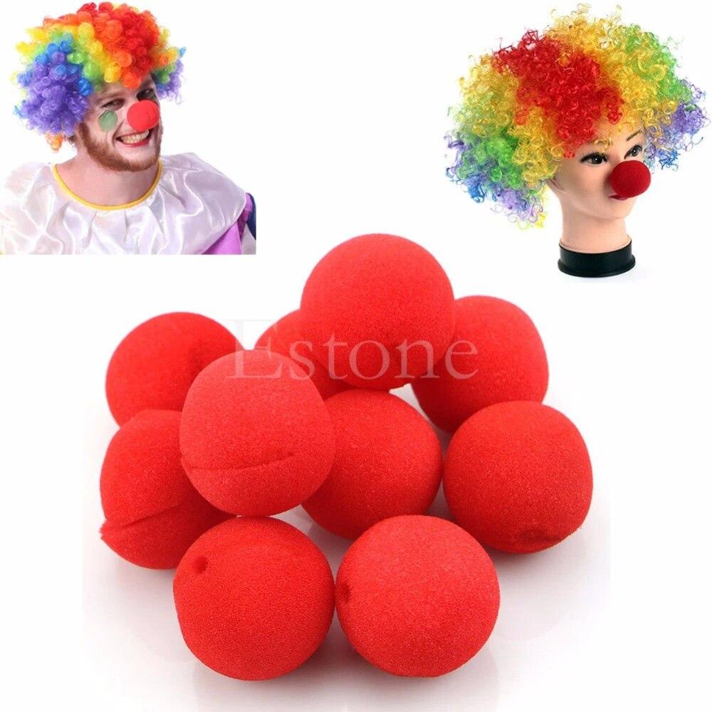 Cirque Mousse Nez Clown rouge Aussiebum enfant accessoire robe fantaisie éponge besoin