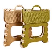 Высокое качество Пластик складной стул 6 Тип Сгущает Председатель Портативный Мебель для дома ребенок удобных ужин табуреты зеленый, серый