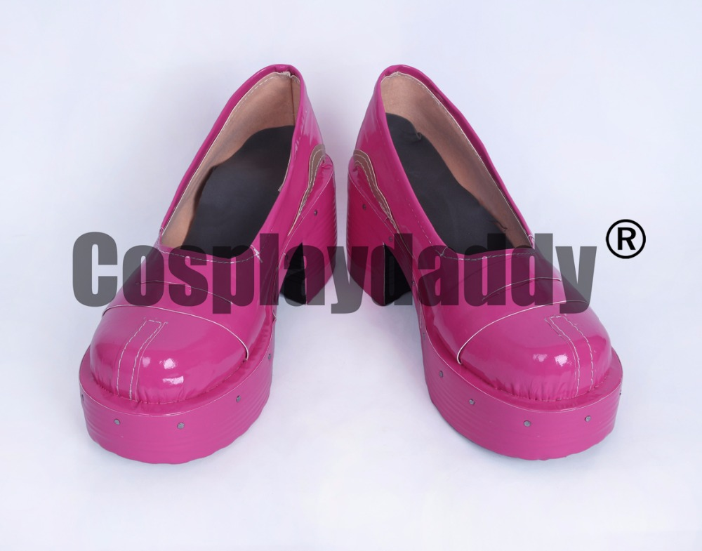 King Pro League Xiao Qiao Girls Daily Pink Halloween Cosplay Shoes Boots H016