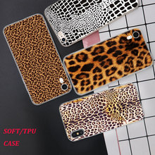 Silicone Case 2018 Leopard print Printing for iPhone XS XR Max X 8 7 6 6S Plus 5 5S SE Phone Matte Cover