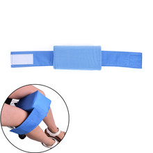 20 x 11 x 11cm Knee Ease Pillow Cushion Comforts Bed Sleeping Seperate Back Leg Pain Support Blue color(China)