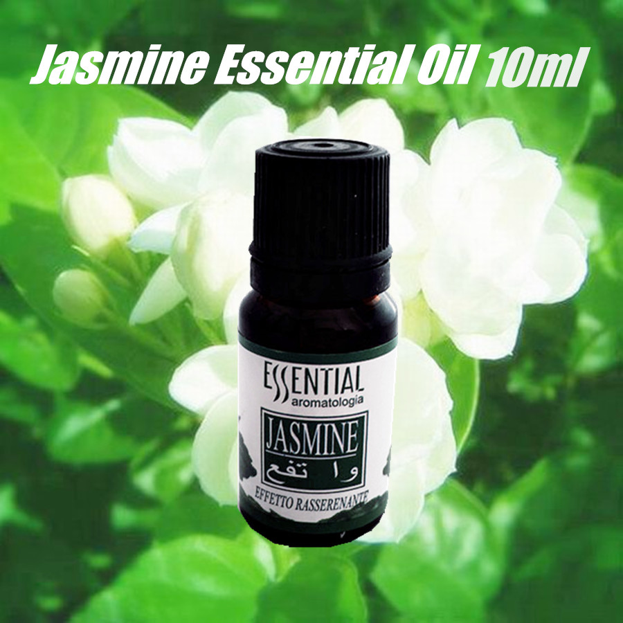 Natural Pure Aroma Fragrance Jasmine Essential Oil Massage Beauty Salon Refreshing10ml