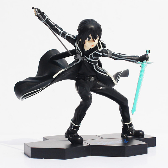 Sword Art Online Action Figure Kirito Doll 17cm