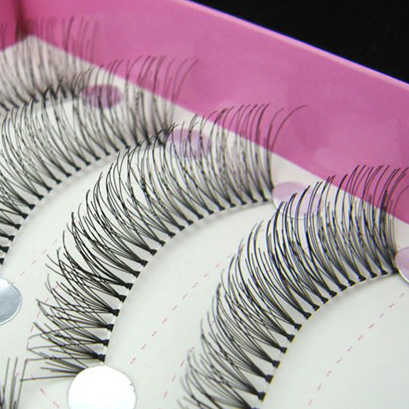 938dcefa0b1 New 50 Pair Handmade False Eyelashes High Quality Lash Eyelash Extension  Eye Lashes Makeup Maquiagem image