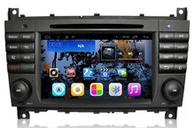 Android 4.4.4 Quad Core GPS Navigation 7″ 1024*600 Car DVD Player for Benz C W203/CLK W209 with ATV/RDS/Canbus/SWC