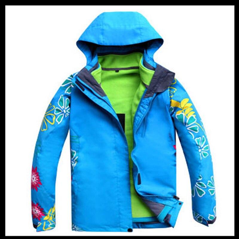 Prix pour Livraison gratuite SAUVAGE NEIGE ski veste femmes sport ski vestes manteaux Snowboard femme Épaississent Neige imperméable/coupe-vent PYJ411
