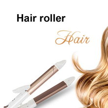 Wet and Dry Combo Hair Curling Irons Styling Tool Straight Hair Roll Ceramic Splint Wave Care US Plug